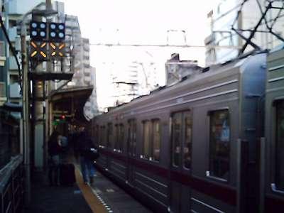大山駅 2008-03-11