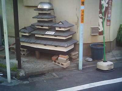 松本城模型