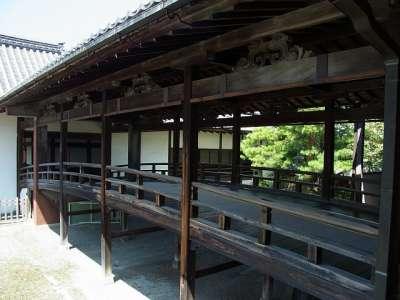 大通寺 渡廊