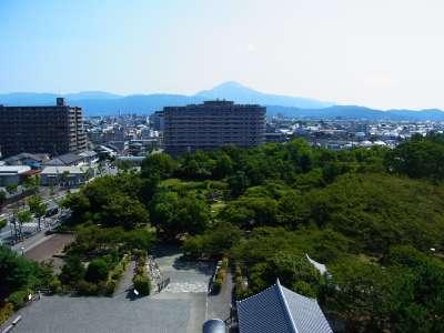 長浜城模擬天守からの眺望 東