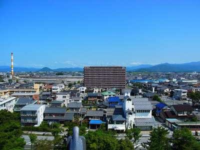 長浜城模擬天守からの眺望 北