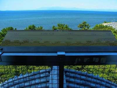 長浜城模擬天守からの眺望 西