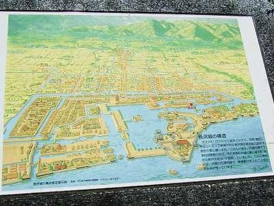 長浜城 復元図