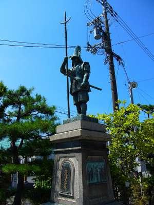 豊国神社 加藤清正像