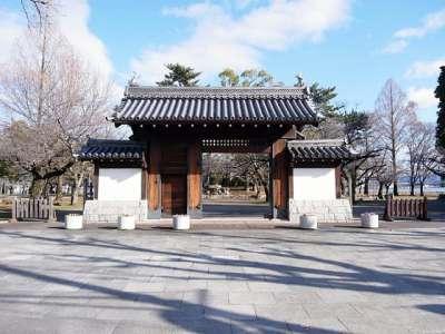 膳所城 模擬門