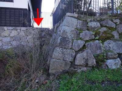 膳所城 二の丸復元石垣