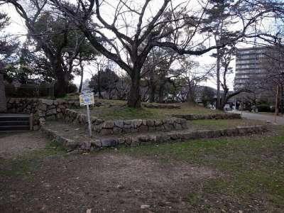 膳所城 本丸
