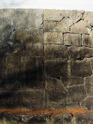 飫肥城 石垣修復(増築?)の痕跡