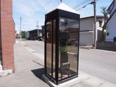 猪苗代町 電話ボックス