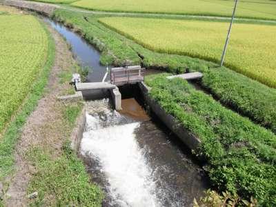 猪苗代町 農業用水路