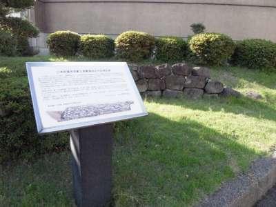 二本松藩 丹羽家上屋敷跡出土の石垣石材