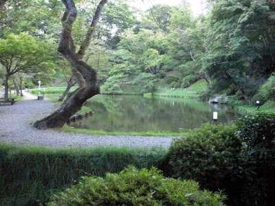二本松城 るり池