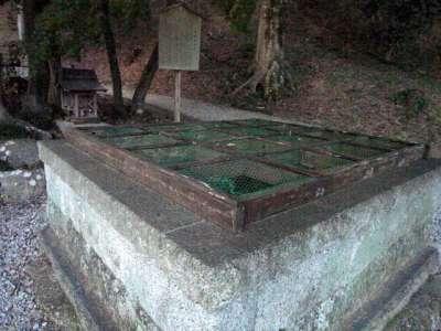 二本松城 日影の井戸