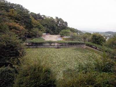 二本松城 霞池