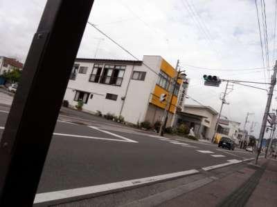 棚倉城下町 急いで駅へ向かってる最中