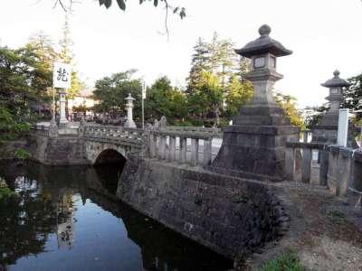 米沢城 舞鶴橋