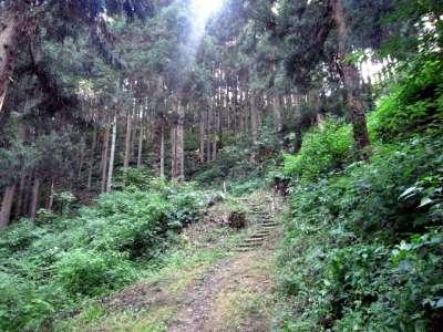 越後村上城 冠木門跡