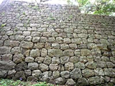 越後村上城 石垣