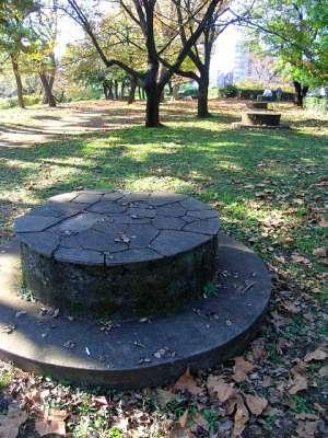千鳥ヶ淵公園 高射砲台座跡