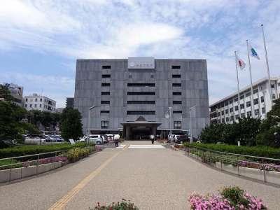 浜松市役所(浜松城二の丸)