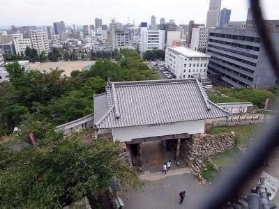 浜松城 天守門(復元)