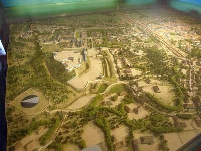 浜松城 模型