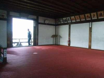犬山城 天守最上階 2009 年 10 月