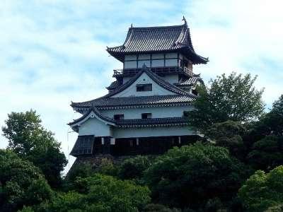 犬山城 犬山ライン大橋より 2017 年 8 月