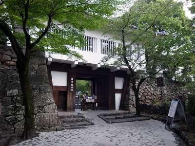 犬山城 大手門(模擬門)