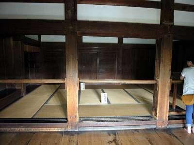 犬山城 天守一階 上段の間 2017 年 8 月