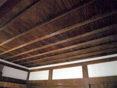 犬山城 天守一階 上段の間 猿頬天井 2017 年 8 月