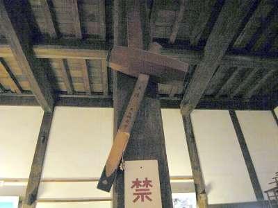 犬山城 天守二階 棟札か 2017 年 8 月