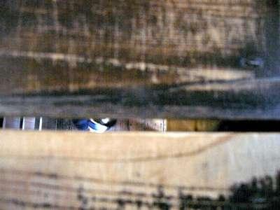 犬山城 天守二階から一階が見える 2017 年 8 月