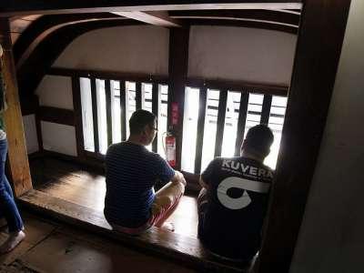犬山城 天守三階 唐破風の間 2017 年 8 月