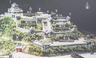 犬山城 推定復元図