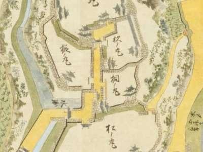 犬山城 古地図