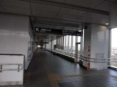 鵜沼駅 空中歩道