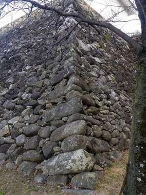 伊勢亀山城 石垣