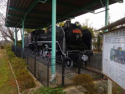 伊勢亀山城 蒸気機関車
