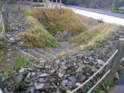 伊勢亀山城 埋門跡
