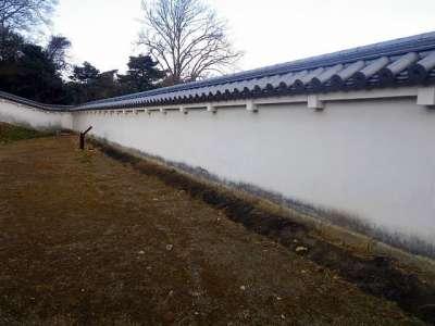 伊勢亀山城 築地塀
