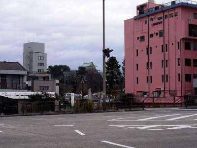 名古屋城遠望
