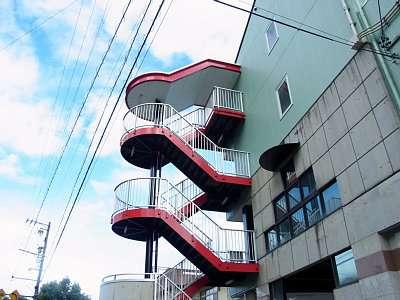鵜沼城近くのマンション