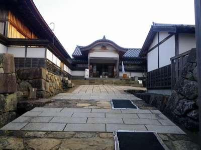 篠山城 復元大書院入口