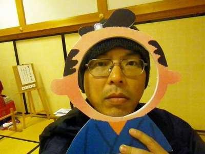 篠山城 モバイル顔ハメ
