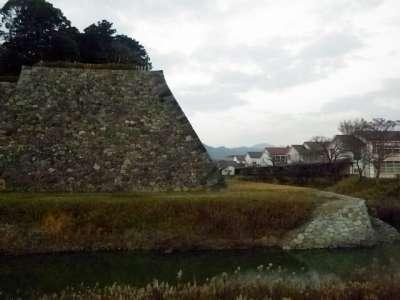 篠山城 犬走り