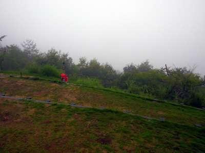 立雲峡第一展望台
