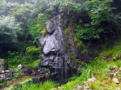 竜神の滝 立雲峡