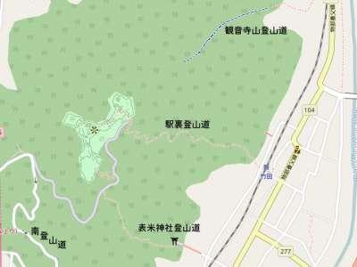 竹田城マップ