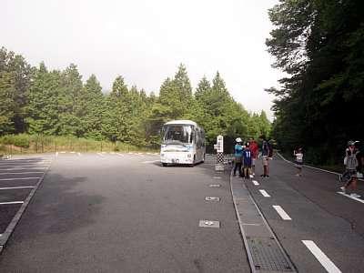 天空バス停留場 竹田城跡